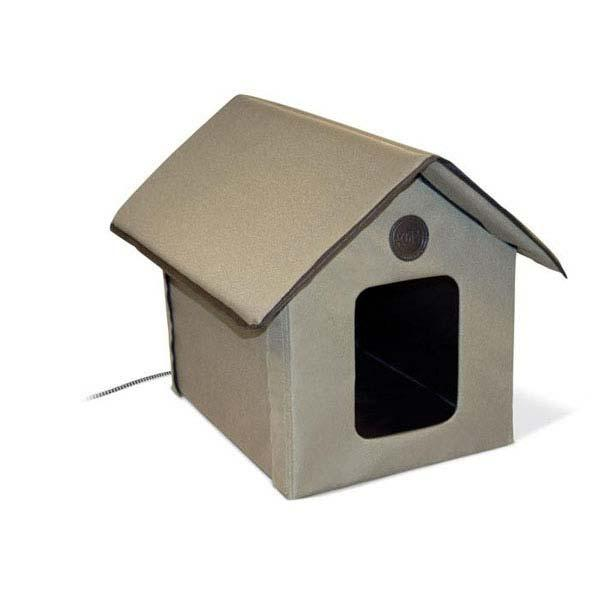 """K&H Pet Products Outdoor HEATED Kitty House 22"""" x 18"""" x 17"""""""