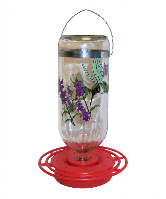 Best-1 32 Ounce Black Chinned Hummingbird Bird Feeder - Boxed