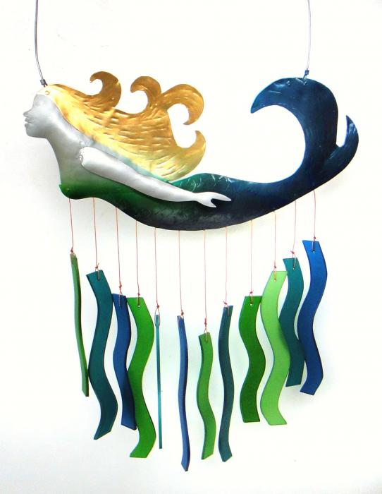 Blue HandWorks Mermaid Chime