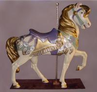 Royal Stander Lavender Carousel Horse