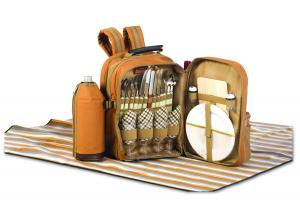 Picnic Backpacks for 4 by Picnic Plus