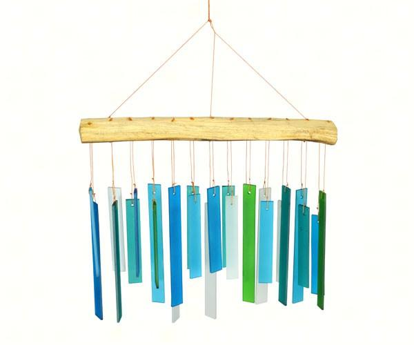 Blue HandWorks Seaglass & Driftwood Chime
