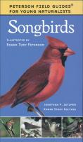 Peterson Books Young Naturalist Song Birds