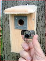 Backyard Birdhouse with Hawk Eye Cam