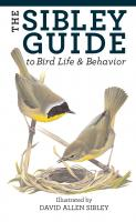 Random House The Sibley Guide To Bird Life And Behavior