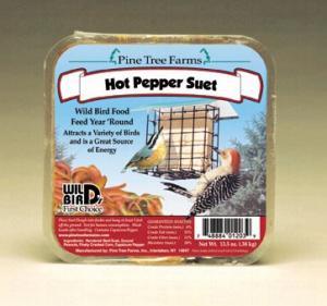 Pine Tree Farms Hot Pepper Suet