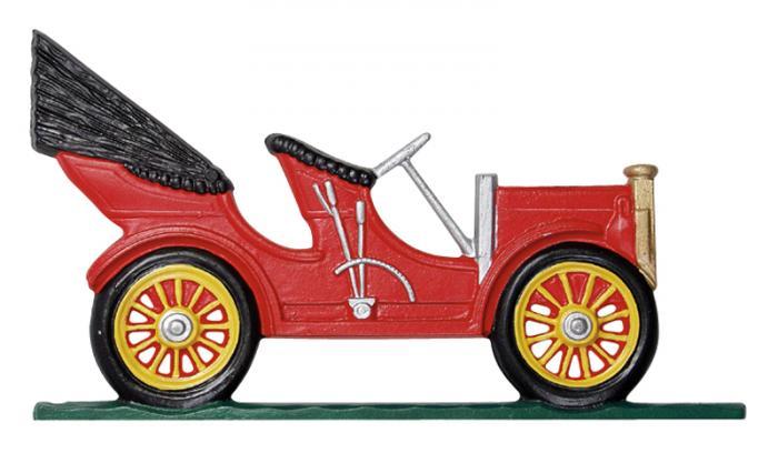 "30"" Antique Auto Weathervane - Rooftop Color"