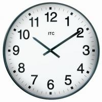 "Infinity 19"" Oversize Black Wall Clock"
