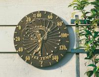 Whitehall Golfer Thermometer - French Bronze
