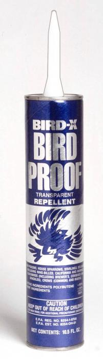Bird-X Bird-Proof Bird Repellent - 10 Ounce Tube