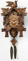 "River City 13"" Moving Birds Feed Nest Cuckoo Clock"