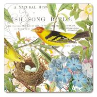 Counter Art Botanical Birds Hardboard Coasters Set of 4