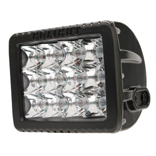 GoLight Gxl LED Spotlight - Fixed Mount - Black