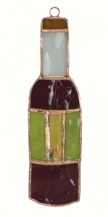 Gift Essentials Wine Bottle Suncatcher