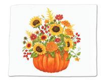 Alice's Cottage Pumpkin Bouquet Single Flour Sack Towel