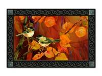 Magnet Works Autumn Chickadees MatMate