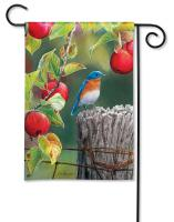 Magnet Works Orchard Bluebird Garden Flag