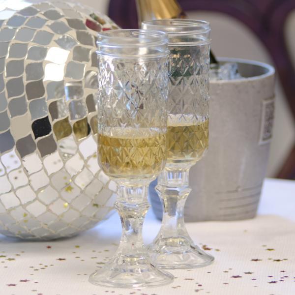 Carson Original Rednek Champagne Flutes Set of 2