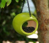 Byer of Maine Mango Fly-Through Bird Feeder - Green