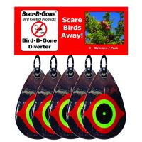 Reflective Scare Bird Diverter (Set of 5)