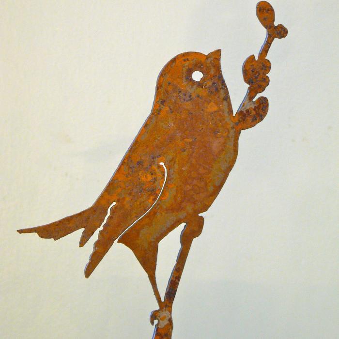 Elegant Garden Design Bird on Willow Bird Silhouette