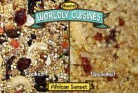 Wordly Cuisines African Sunset