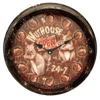 Nut House Metal Clock 15""