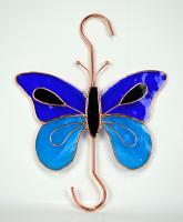 Gift Essentials Dark & Light Blue Butterfly Hook