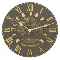 Whitehall Times & Seasons Clock - French Bronze