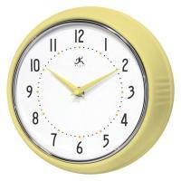 Infinity Retro Yellow Wall Clock