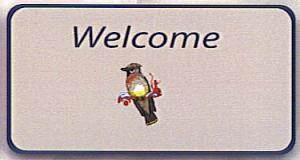 Matworks LTD Cedar Waxwing Welcome Mat