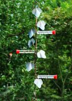 Songbird Essentials 22 inch Copper Ivy Plant Hanger with 3 Hummer Stations Hummingbird Bird Feeder