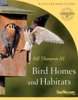 Peterson Books Bird Homes and Habitats