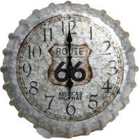 "Springfield 14 Route 66 Bottlecap Clock""""4"" Route 66 Bottlecap Clo"""""" Route 66 Bottlecap Cl"""" Route 66 Bottlecap Cl"""