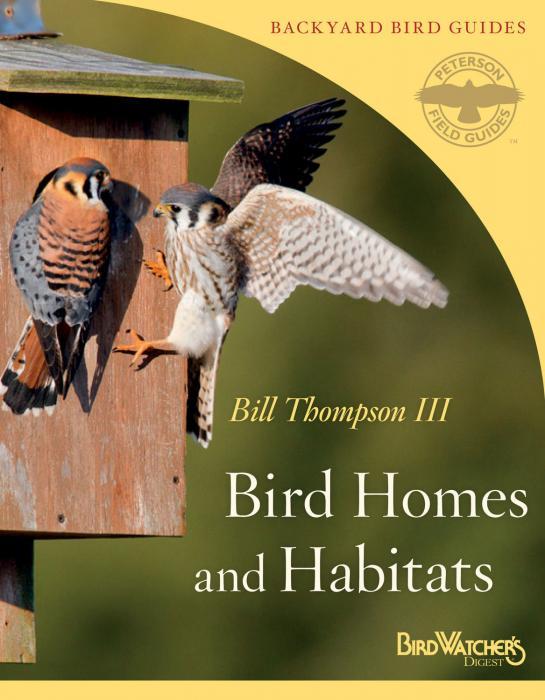 Peterson Books Bird Homes and Habitats