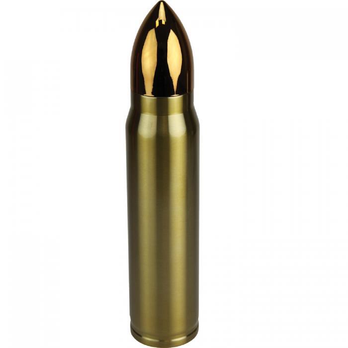 Rivers Edge Rifle Cartridge Vacuum Bottle - Holds 34 oz.