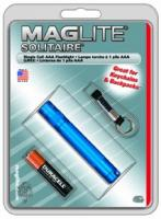 MagLite - Solitaire Blue Flashlight Hanging Pack