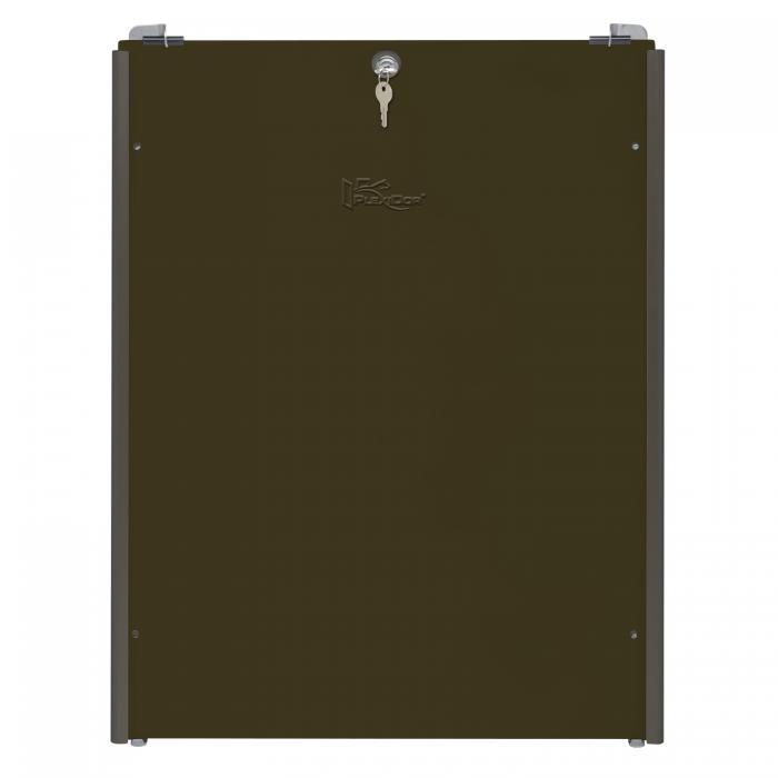 PlexiDor Performance Pet Doors X-Large Sliding Track Security Plate, Bronze