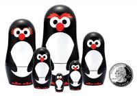 The Original Toy Company Penguin Micro Matryoshka's