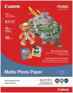 Canon 7981A004AB Matte Photo Paper (8.5 X 11; 50 Pk)