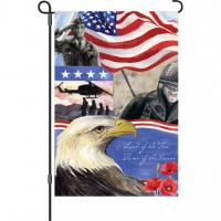 Premier Designs Home of the Brave Garden Flag