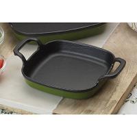 "Bayou Classic Cypress Green 6"" Baking Dish Baking Dish,7770G"