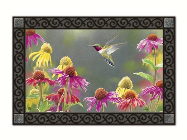 Magnet Works Hummingbird Heaven MatMate