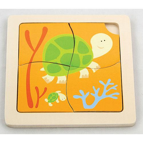 The Original Toy Company First Puzzles, Turtle