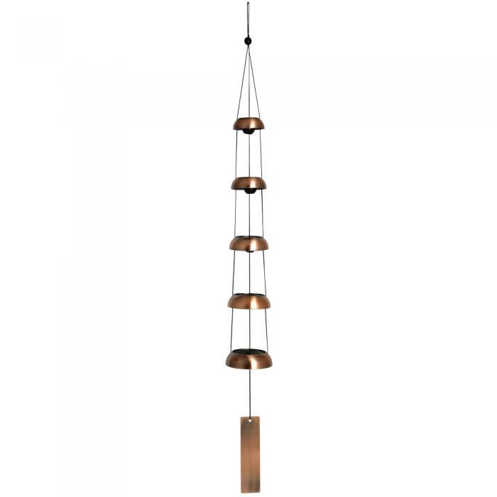 Woodstock Chimes Woodstock Temple Bells - Quintet, Copper