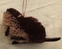 Brushart Beaver 2.5 inch Ornament