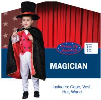 Dress Up America Magician Set - Toddler T4