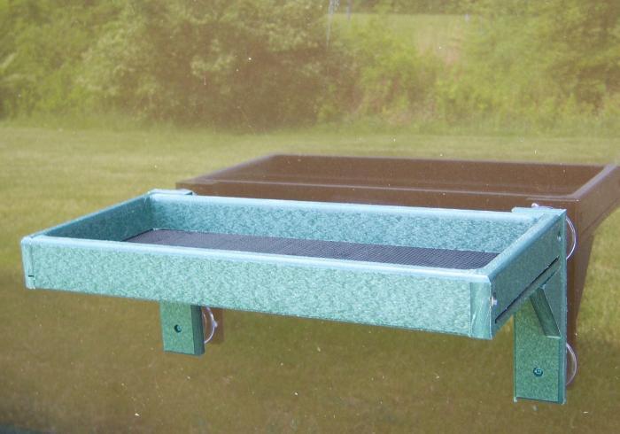 Songbird Essentials Recycled Plastic Window Bird Feeder