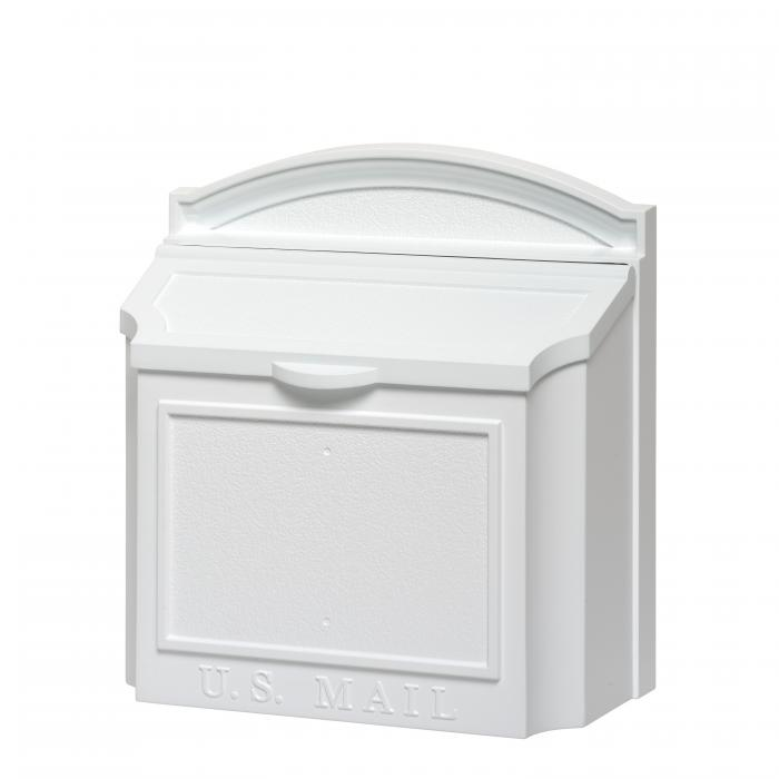 Whitehall Wall Mailbox - White