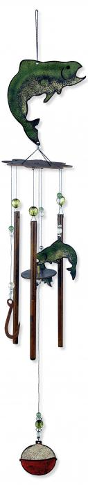 "Sunset Vista Designs Catch of the Day 28"" Fish Chime"